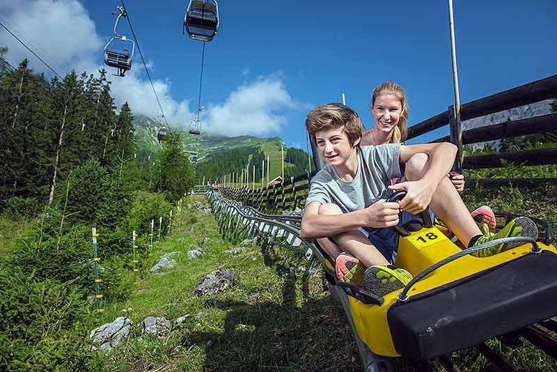 Alpine Coaster Imst für Schulklassen