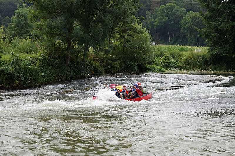 5-Tägige Klassenfahrt mit dem Kanu
