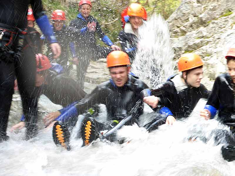 Canyoning classic
