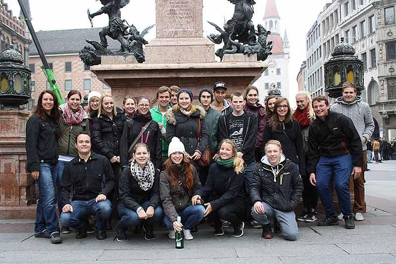 Geocaching Schulausflug in München