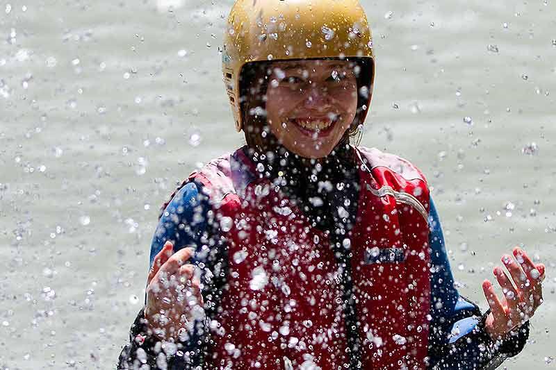 Rafting als Modul oder als Schulausflug