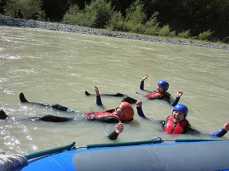 Rafting Sicherheit