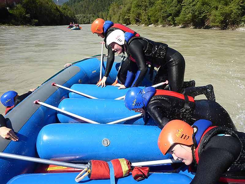 Rafting Vorbereitungstour