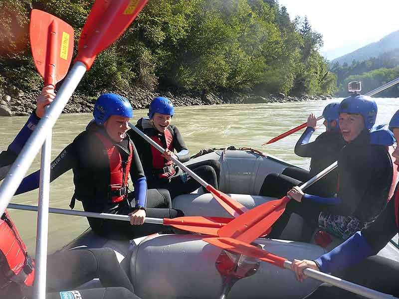 Rafting Imster Schlucht