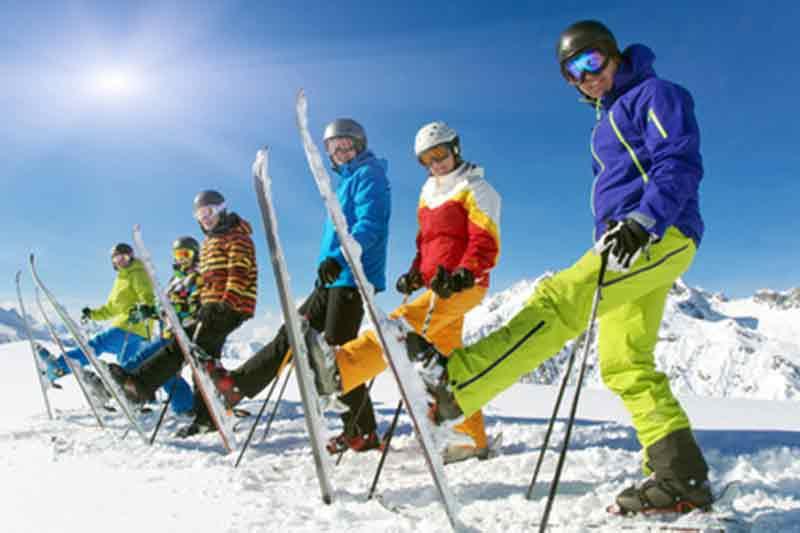 Hütten - Klassenfahrt im Winter